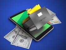 3D Groen Royalty-vrije Stock Afbeelding