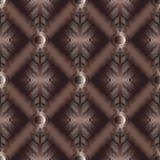 3d grunge geometrycznego meanderu bezszwowy wzór Fotografia Stock