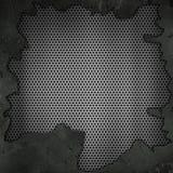 3D grunge kruszcowy tło Zdjęcie Stock