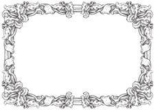 3d härligt dimensionellt diagram tappning för ramillustration tre mycket Royaltyfria Bilder