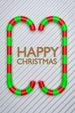 3d ha reso i saluti di Natale illustrazione vettoriale