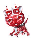 3D ha reso l'animale domestico sveglio di fantasia su bianco Immagini Stock Libere da Diritti