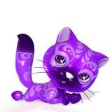 3D ha reso l'animale domestico sveglio di fantasia su bianco Fotografia Stock