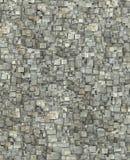 3d ha spezzettato il contesto grigio del modello di lerciume delle mattonelle del legname Fotografia Stock Libera da Diritti