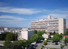 D'habitation de Unitè, Marsella, Francia foto de archivo libre de regalías