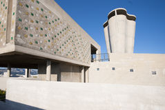D'habitation de Unitè, Marsella, Francia fotos de archivo libres de regalías