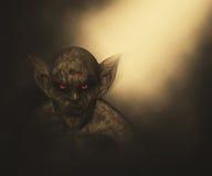 3D Halloween demon stock illustration