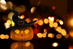 3d Halloween pompoen Stock Foto's