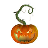 3d Halloween pumpkin Royalty Free Stock Photo