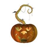 3d Halloween pumpkin Royalty Free Stock Photo