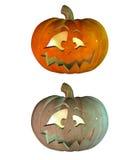 3d Halloween pumpkin Royalty Free Stock Image