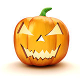 3d Halloween pumpkin Stock Photos