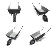 3D hand Carts icon. 3D Icon Design Series. Royalty Free Stock Photos