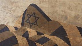 3d hanukkah illustration look menorah my portfolio διαθέσιμο διάνυσμα ύφους του Ισραήλ γυαλιού σημαιών Στοκ Εικόνα