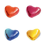 3D Heart  clipart colorful free Royalty Free Stock Image
