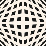 3d heckered pattern. Optical illusion effect. Vector geometric checkered pattern. Seamless texture with cubic shapes, squares, rhombuses. Optical illusion Stock Photo