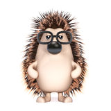 3d Hedgehog Royalty Free Stock Image