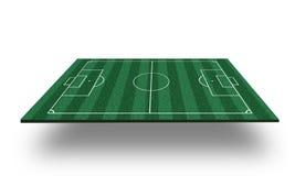 3D het Gebied van de voetbal Royalty-vrije Stock Fotografie