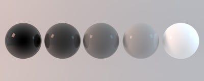 3d het teruggeven abstract gebied Stock Afbeeldingen