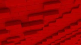 3D het Teruggeven abstracte dozen, illustratieconceptontwerp vector illustratie