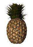 3D het Teruggeven Ananas op Wit Royalty-vrije Stock Foto's