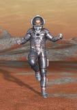3D het Teruggeven Astronaut Royalty-vrije Stock Afbeelding