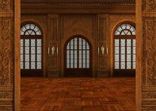 3D het Teruggeven Balzaal Stock Afbeeldingen
