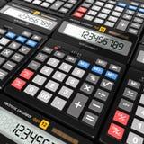 3d het teruggeven calculator Royalty-vrije Stock Afbeelding