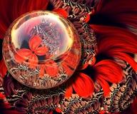 3D het teruggeven combokunstwerk Royalty-vrije Stock Afbeeldingen