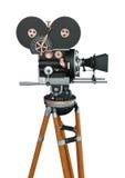 3D het Teruggeven Filmmakerfilmcamera op Wit Stock Afbeeldingen