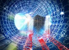 3D het teruggeven firewall Internet Royalty-vrije Stock Fotografie