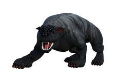 3D het Teruggeven Gargouillehond op Wit Stock Foto's