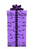 3D het Teruggeven Halloween Gift op Wit Stock Foto