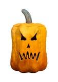 3D het Teruggeven Halloween Pompoen op Wit Royalty-vrije Stock Fotografie