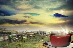 3d het teruggeven Kop van koffie Stock Afbeelding