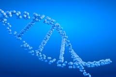 3d het teruggeven molecule van DNA Royalty-vrije Stock Afbeeldingen