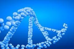 3d het teruggeven molecule van DNA Royalty-vrije Stock Afbeelding