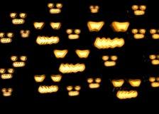 3d het teruggeven pompoen voor Halloween Royalty-vrije Stock Afbeeldingen