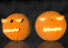 3d het teruggeven pompoen voor Halloween Royalty-vrije Stock Fotografie