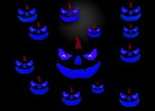 3d het teruggeven pompoen voor Halloween Stock Fotografie