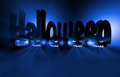 3d het teruggeven pompoen voor Halloween Stock Foto's