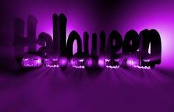 3d het teruggeven pompoen voor Halloween Royalty-vrije Stock Foto