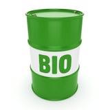 3D het teruggeven vat biofuels Royalty-vrije Stock Foto
