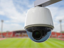 3d het teruggeven veiligheidscamera of kabeltelevisie-camera Royalty-vrije Stock Afbeeldingen
