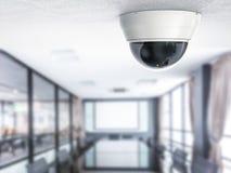 3d het teruggeven veiligheidscamera of kabeltelevisie-camera Royalty-vrije Stock Fotografie