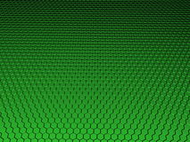 3D Hexagon Background Royalty Free Stock Photos