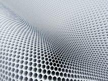3d hexagon pattern Stock Photos