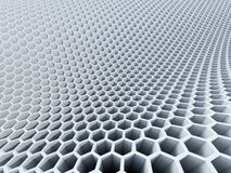 3d hexagon pattern Royalty Free Stock Image