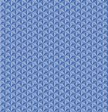 3D hexagonal star seamless vector pattern. This geometric seamless vector pattern features a 6 point star with a 3D effect. The monochromatic design presents stock illustration