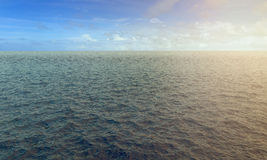 3d high resolution ocean and sky Stock Images